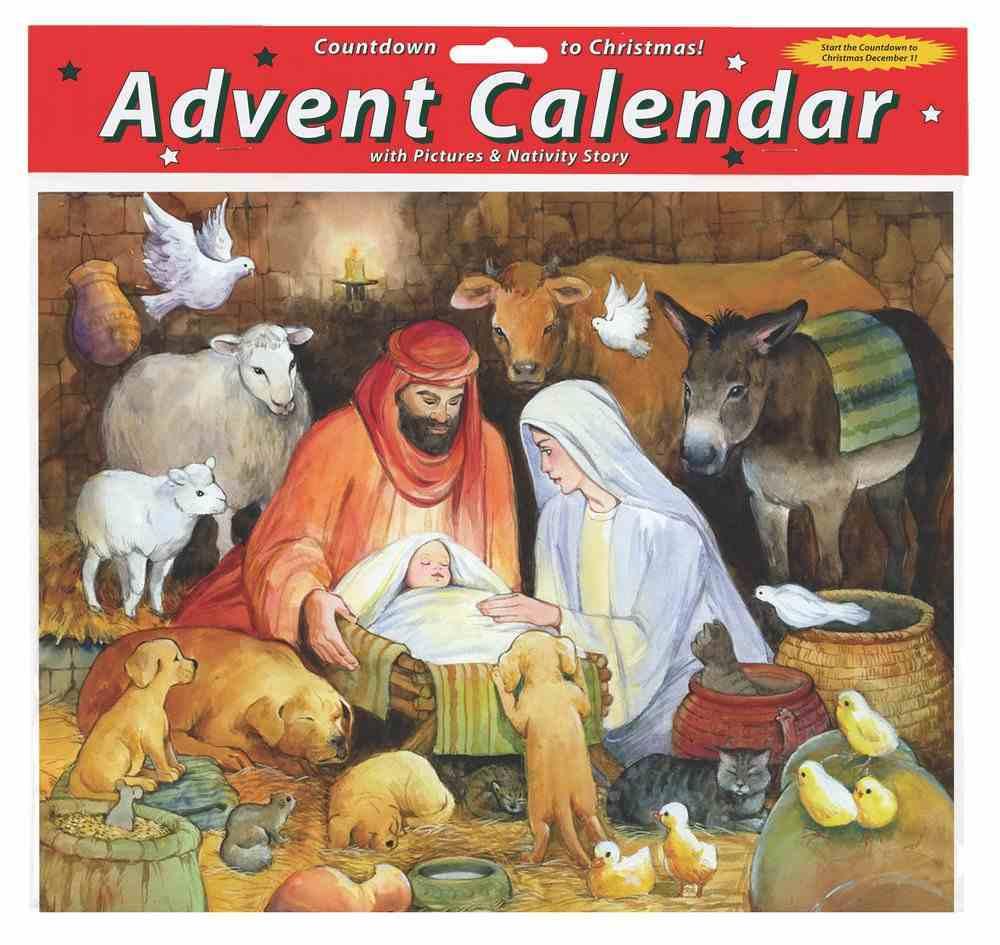 Advent Calendar: Adoring Animals, Glitter Calendar