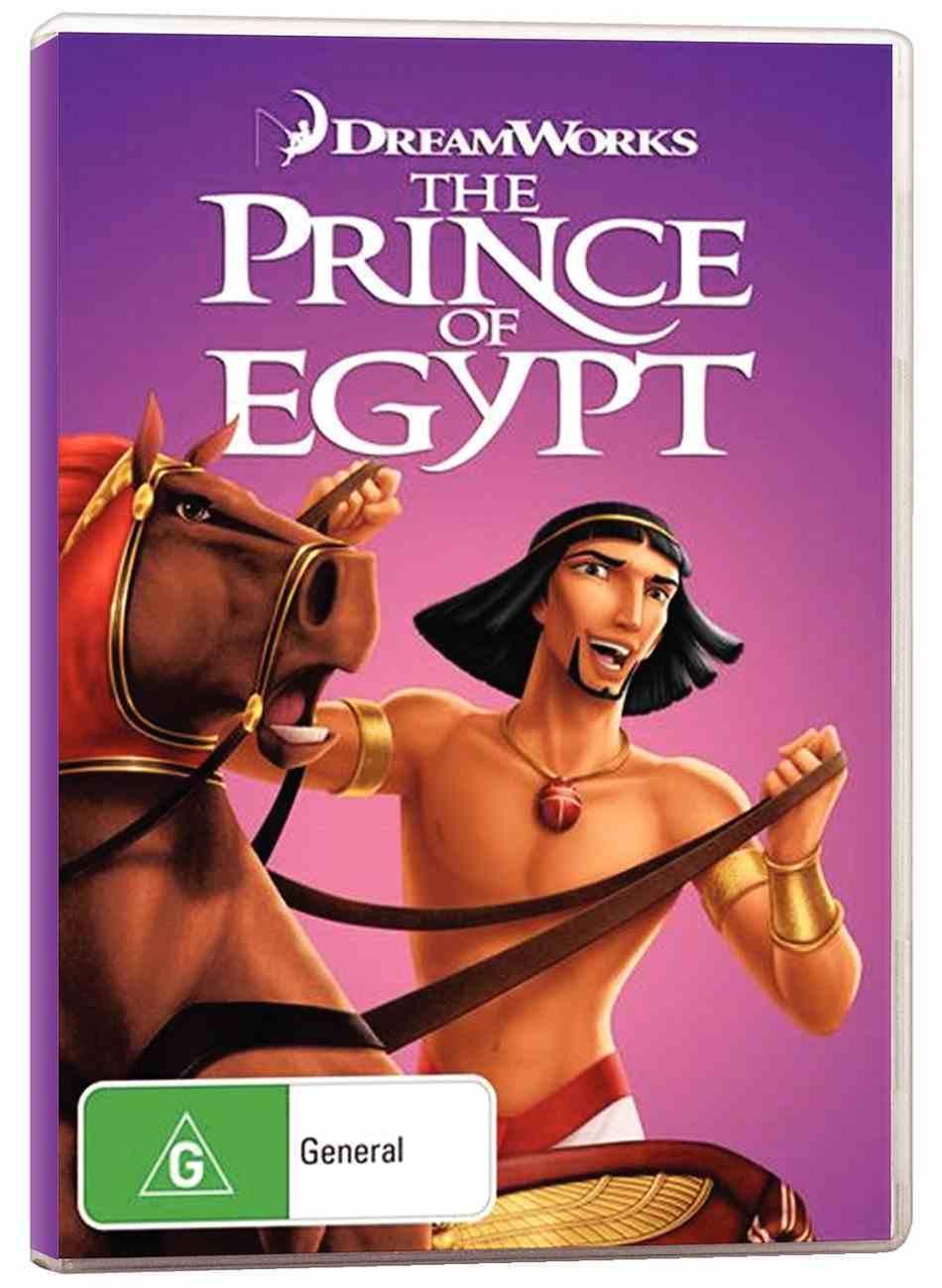 Prince of Egypt (1998) DVD