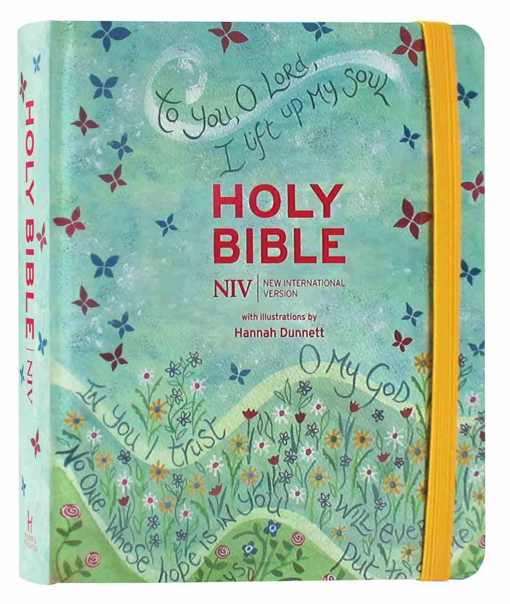NIV Journalling Bible Elastic Strap Anglicised Text Hardback