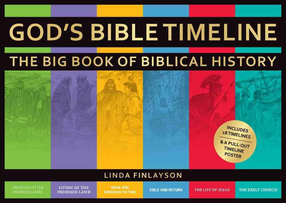 God's Bible Timeline: The Big Book of Biblical History Hardback