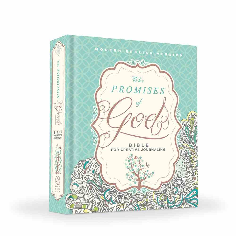 The MEV Promises of God Creative Journaling Bible Hardback
