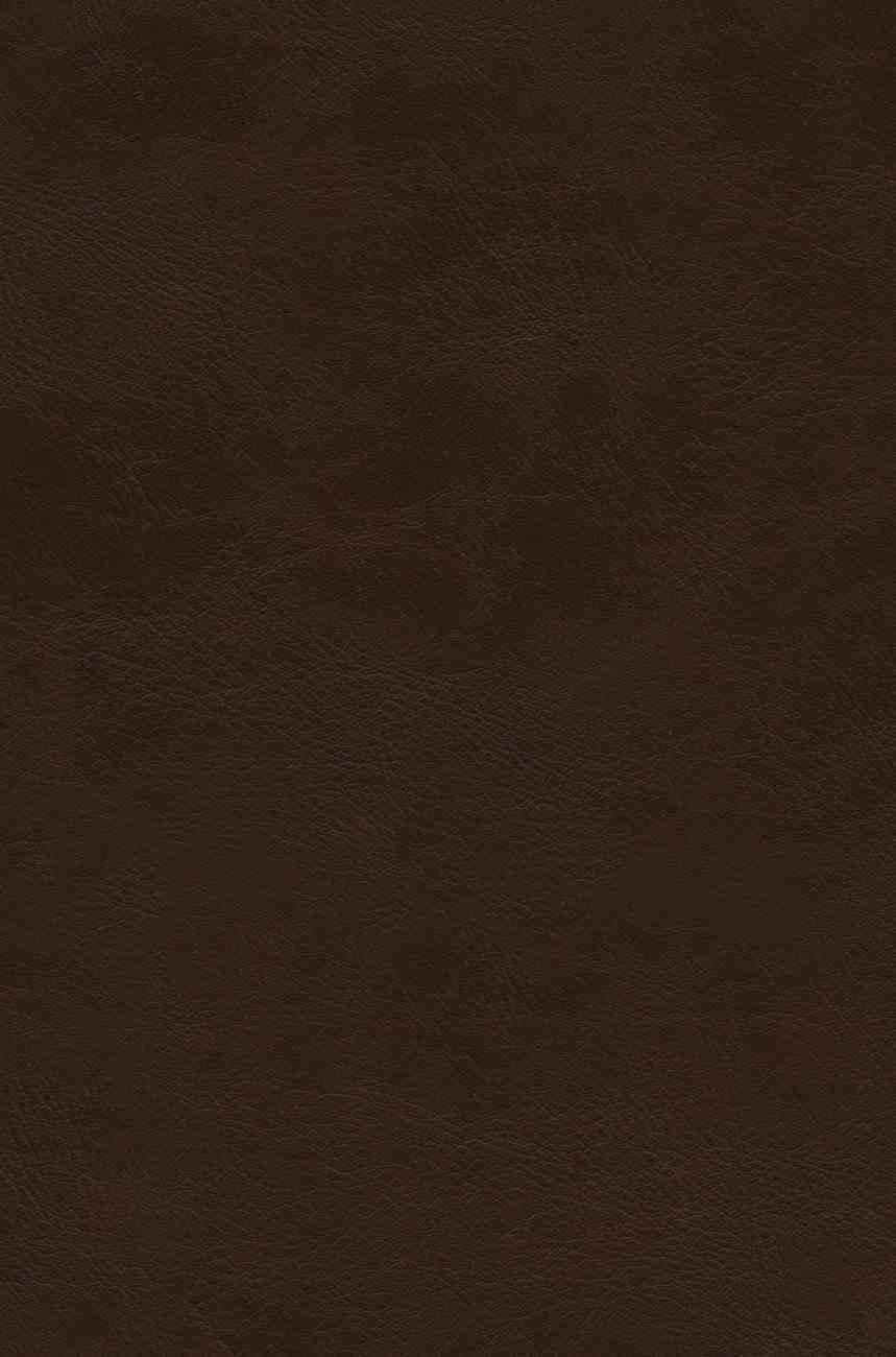 ESV Preaching Bible Brown Large Print Imitation Leather Over Hardback