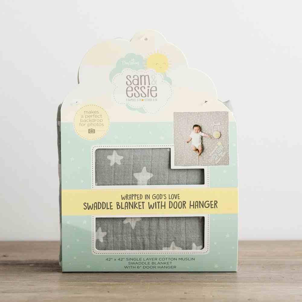 Baby God's Love Swaddle Blanket & Door Hanger Soft Goods