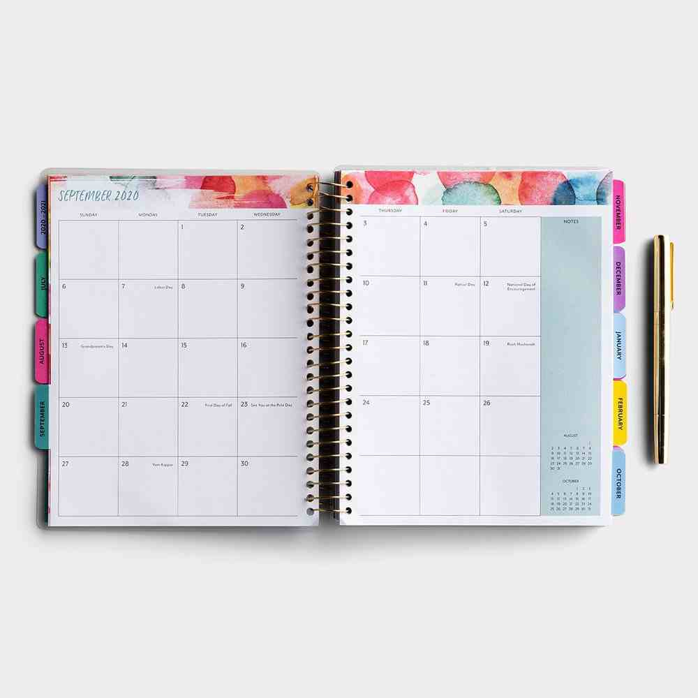 2021 18-Month Agenda Diary/Planner: I Am About to Do Something New Spiral
