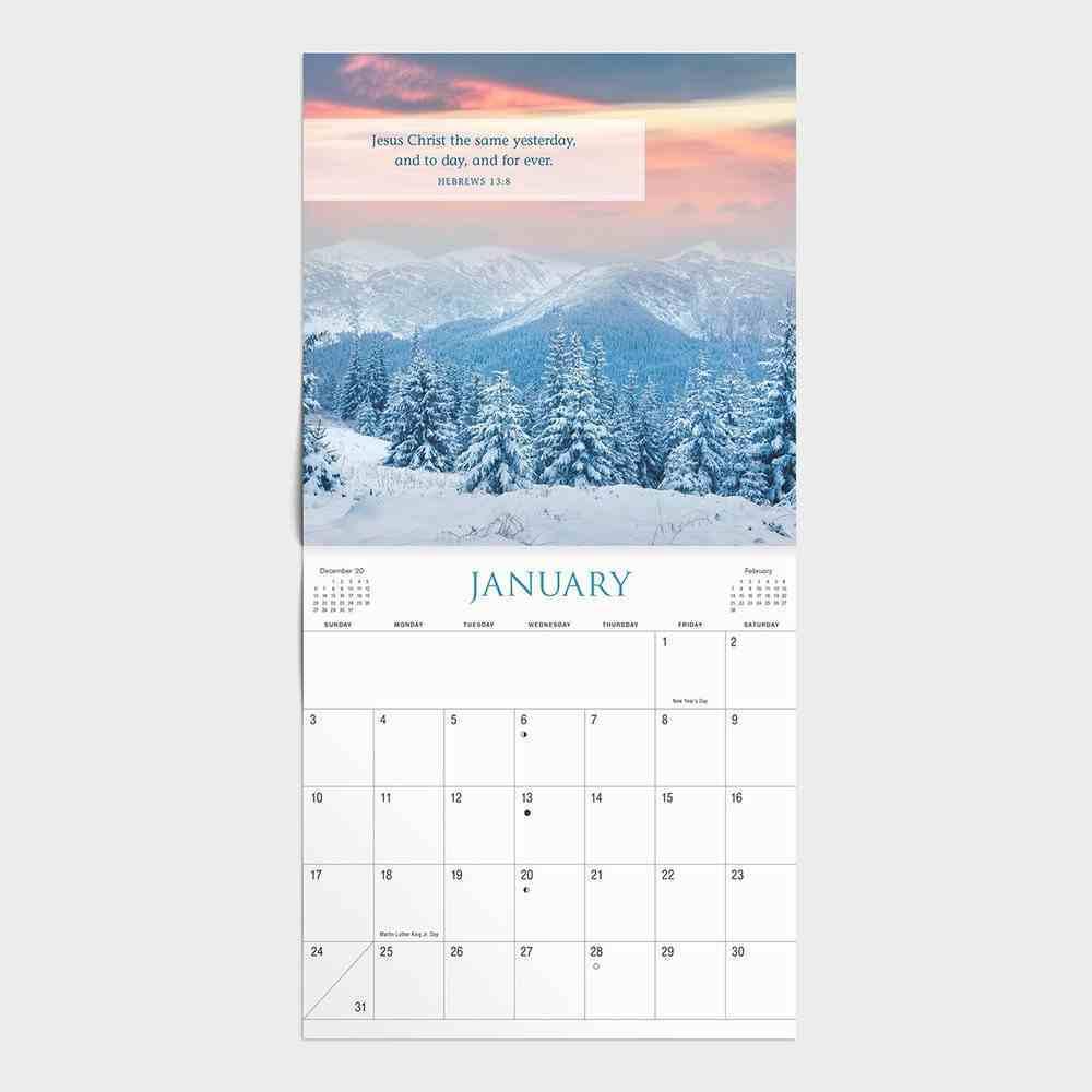 2021 Standard Wall Calendar: Bible Verses (Kjv) Calendar