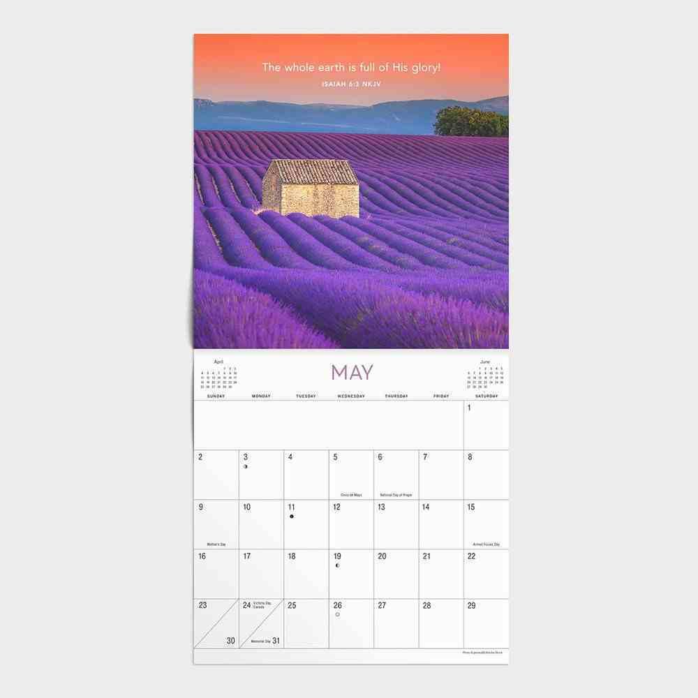 2021 Standard Wall Calendar: Bible Verses Calendar