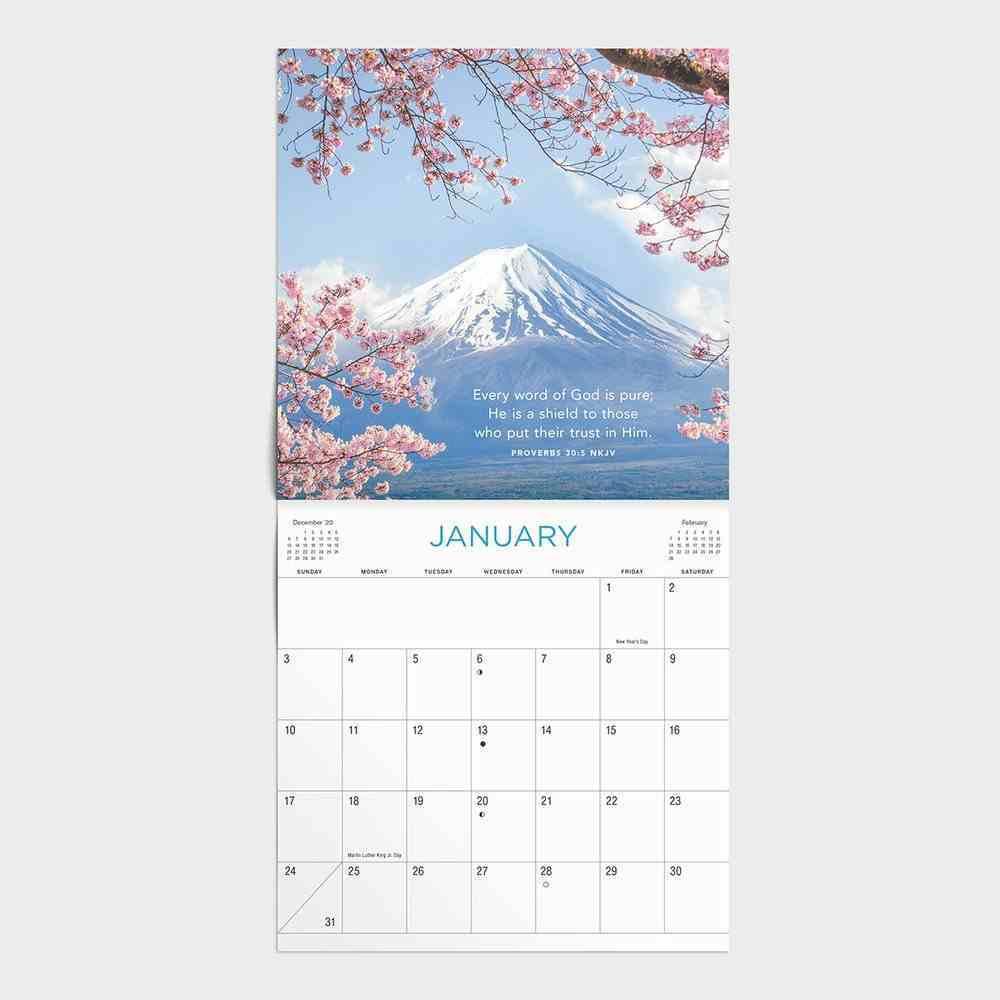2021 Standard Wall Calendar: Proverbs Calendar