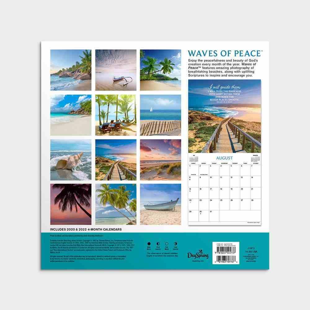 2021 Standard Wall Calendar: Waves of Peace Calendar