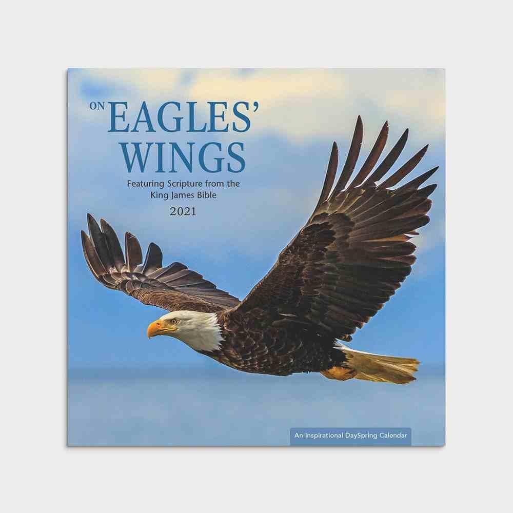 2021 Standard Wall Calendar: Eagle's Wings Calendar