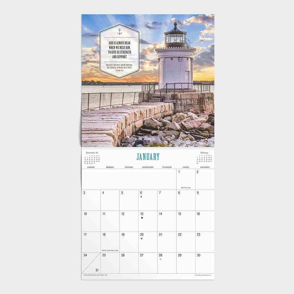 2021 Standard Wall Calendar: Keepers of the Light Calendar