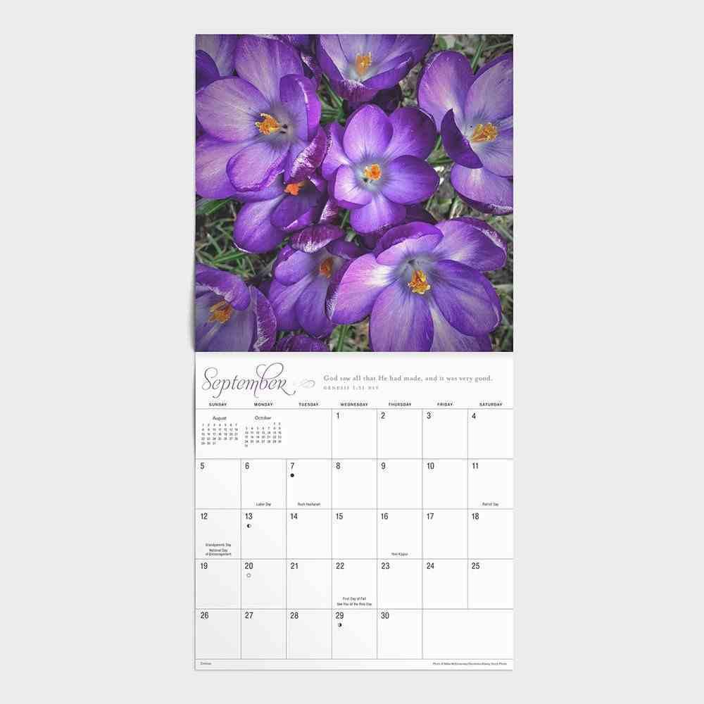 2021 Standard Wall Calendar: Garden of Grace Calendar