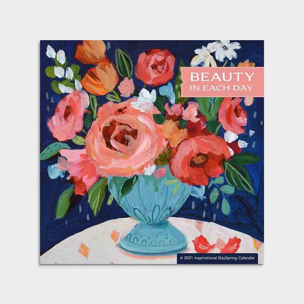 2021 Premium Wall Calendar: Beauty in Each Day Calendar