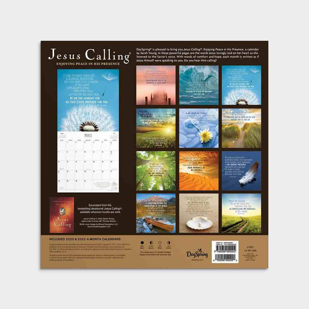 2021 Premium Wall Calendar: Jesus Calling Calendar