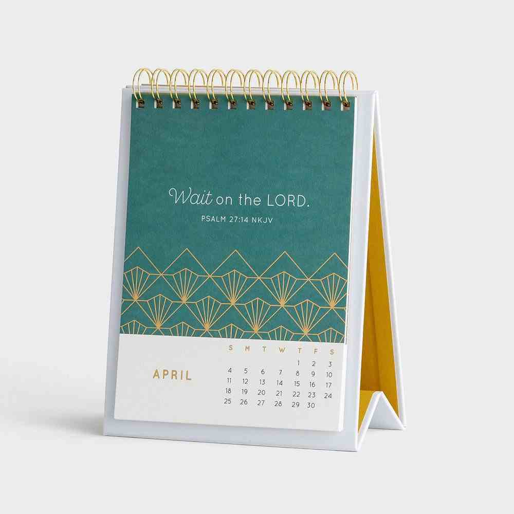 2021 Desktop Calendar: Overflow With Hope Spiral