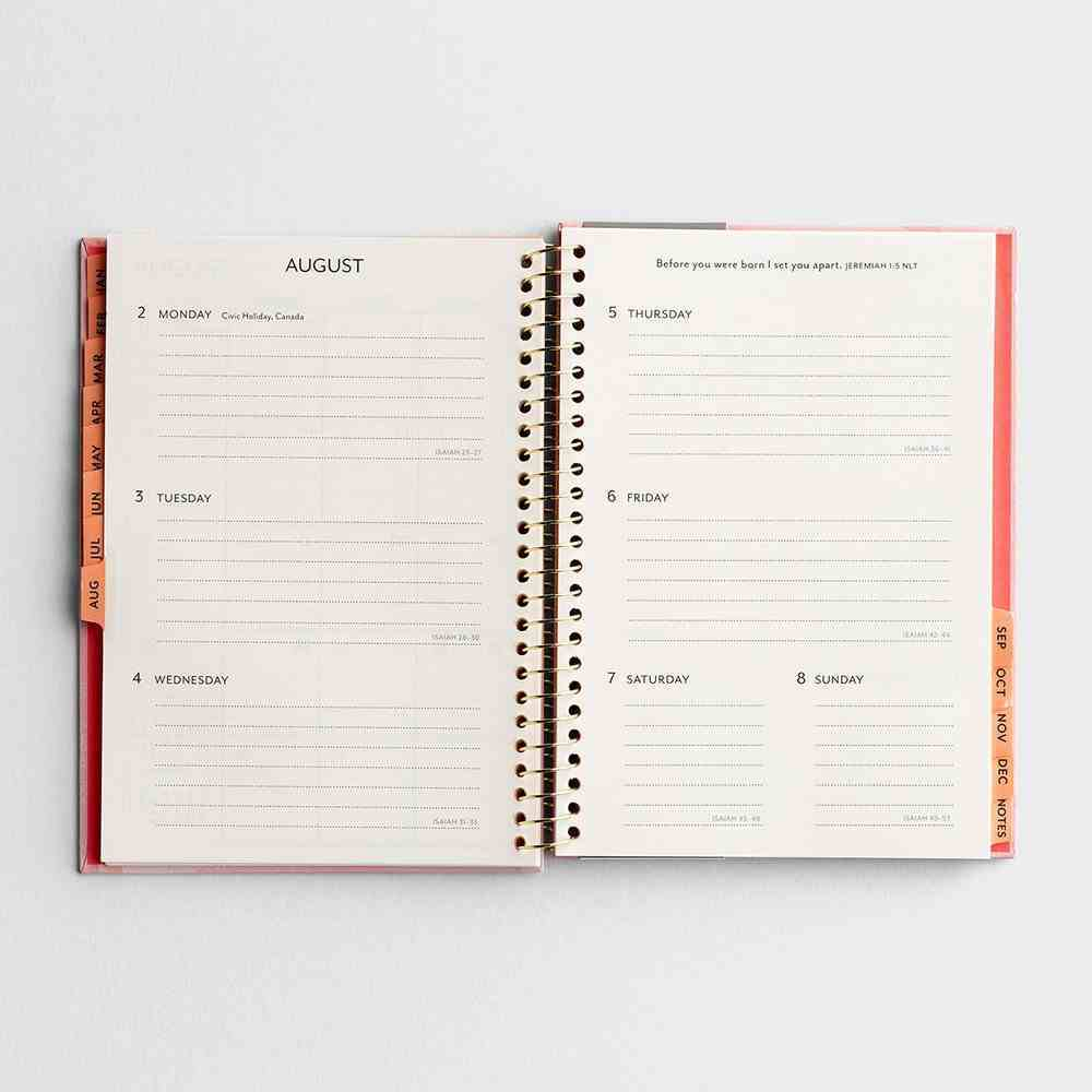 2021 12-Month Diary/Planner: Purposeful Spiral