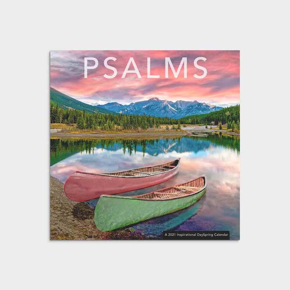 2021 Mini Wall Calendar: Psalms Calendar