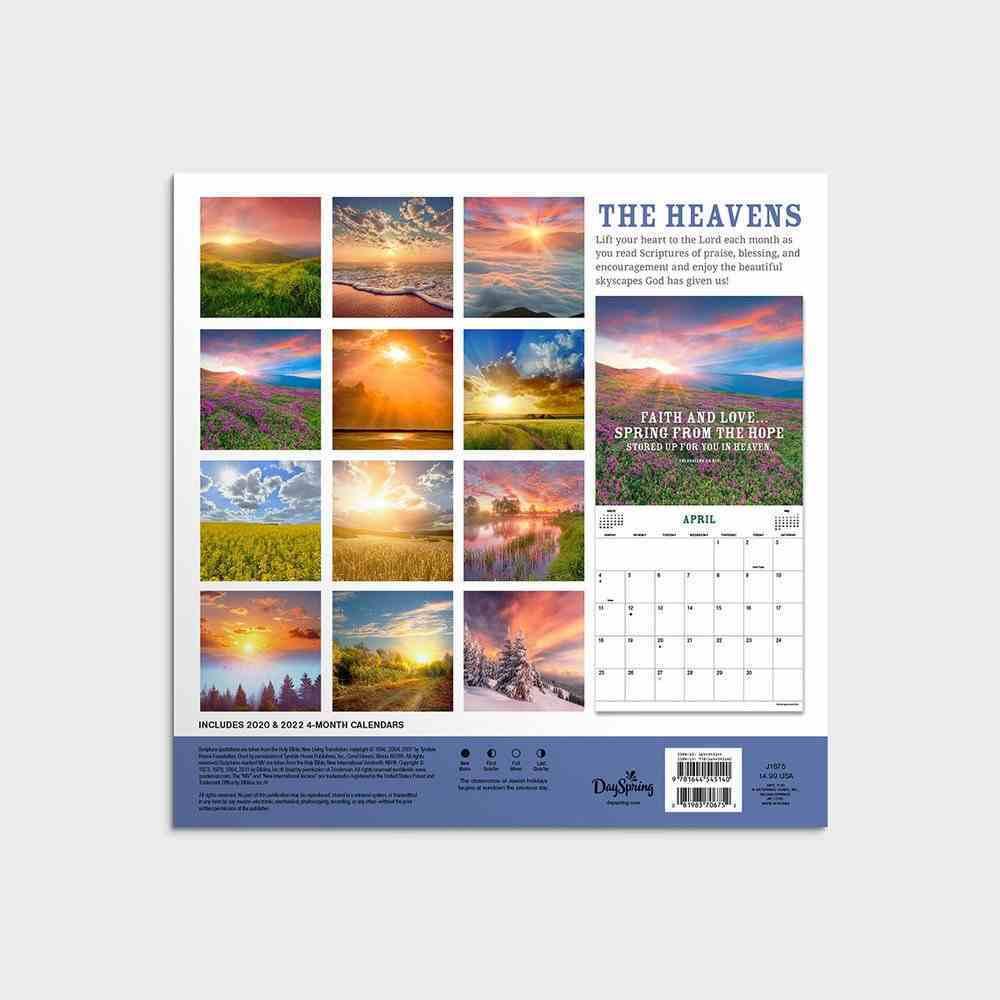 2021 Mini Wall Calendar: The Heavens Calendar