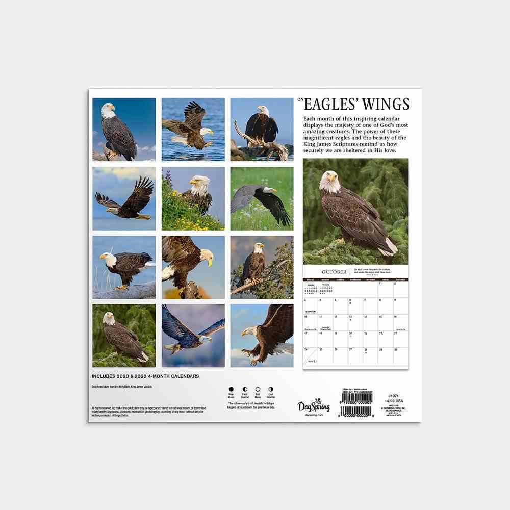 2021 Mini Wall Calendar: Eagle's Wings Calendar