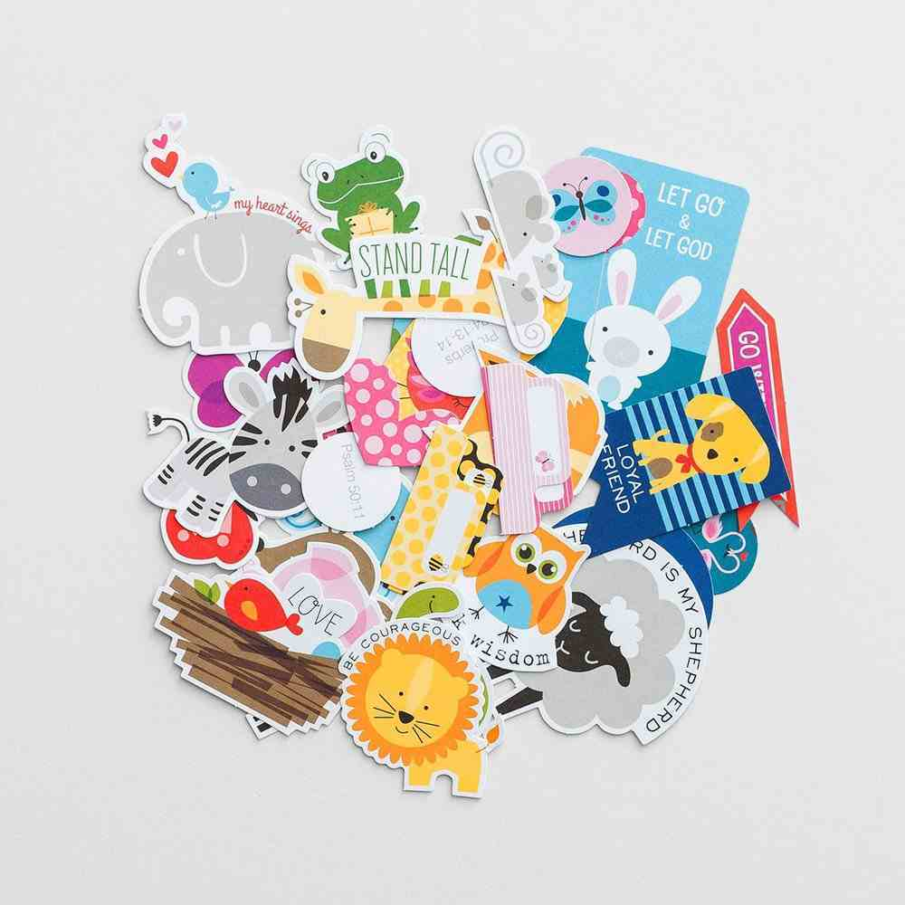 Animals (Illustrated Faith Die Cut Prompts Series) Novelty