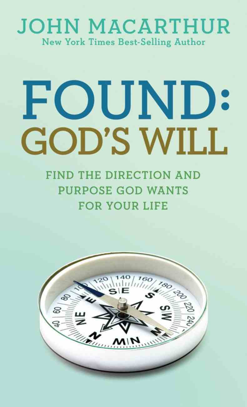Found: God's Will Paperback