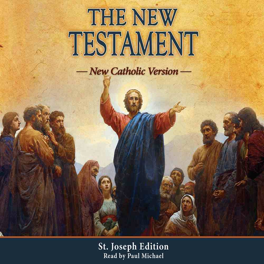 New Testament: The New Catholic Version eAudio Book