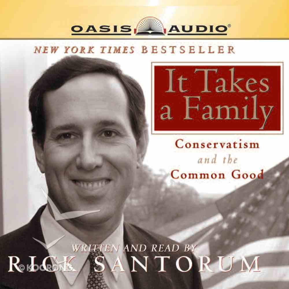 It Takes a Family eAudio Book