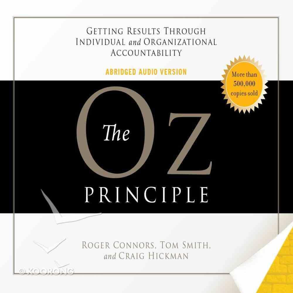 The Oz Principle eAudio Book
