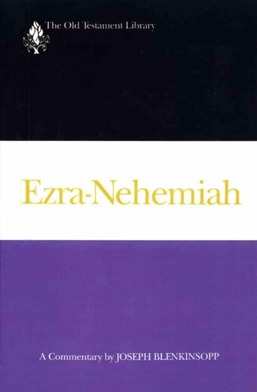 Ezra-Nehemiah (Old Testament Library Series) Paperback