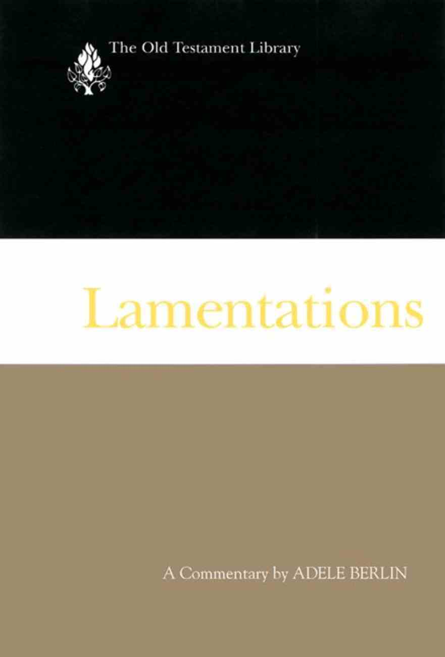 Lamentations (Old Testament Library Series) Paperback