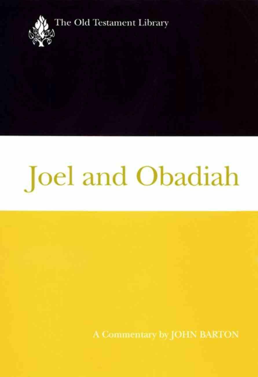 Joel and Obadiah (Old Testament Library Series) Hardback