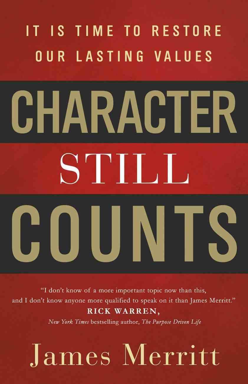 Character Still Counts eBook