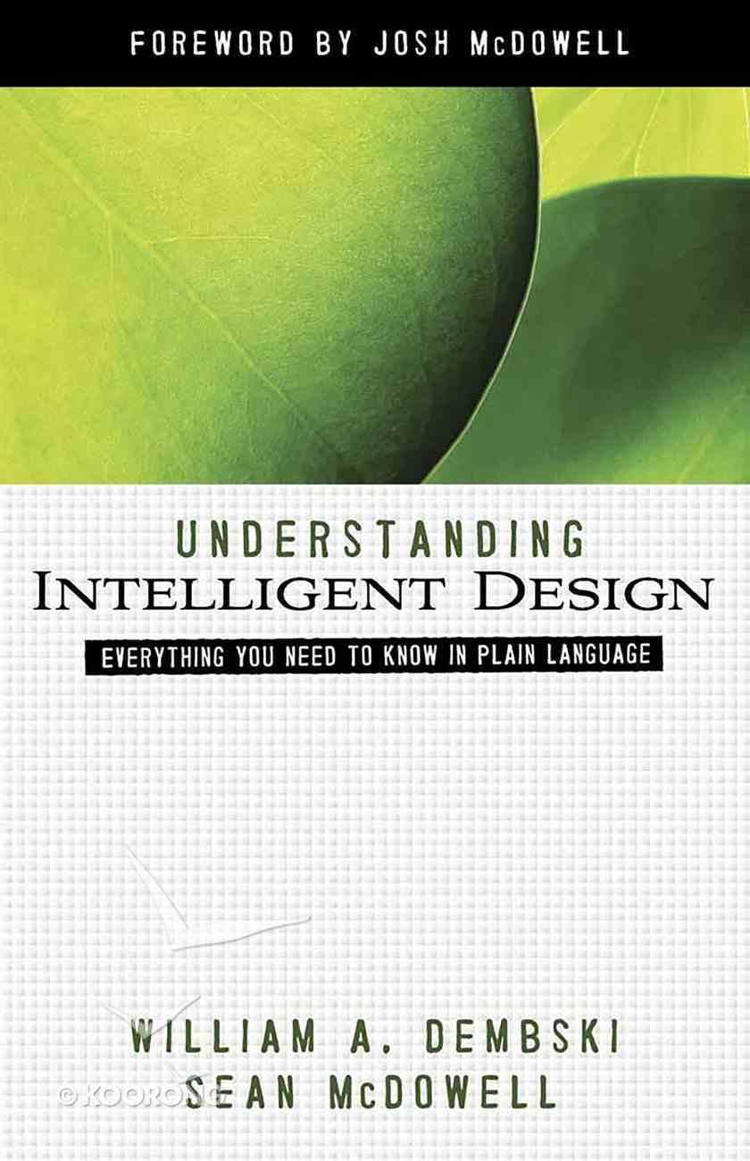 Understanding Intelligent Design eBook