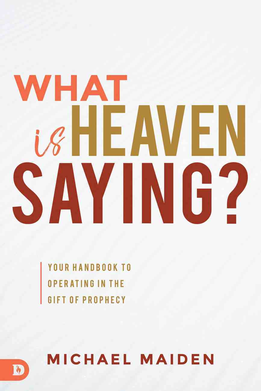 What is Heaven Saying? eBook
