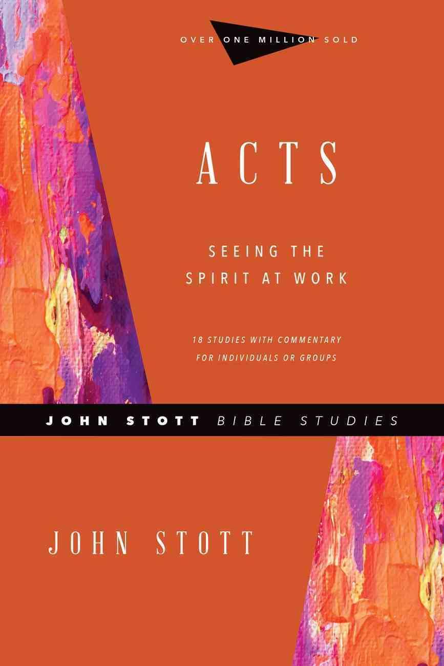 Acts (John Stott Bible Studies Series) eBook