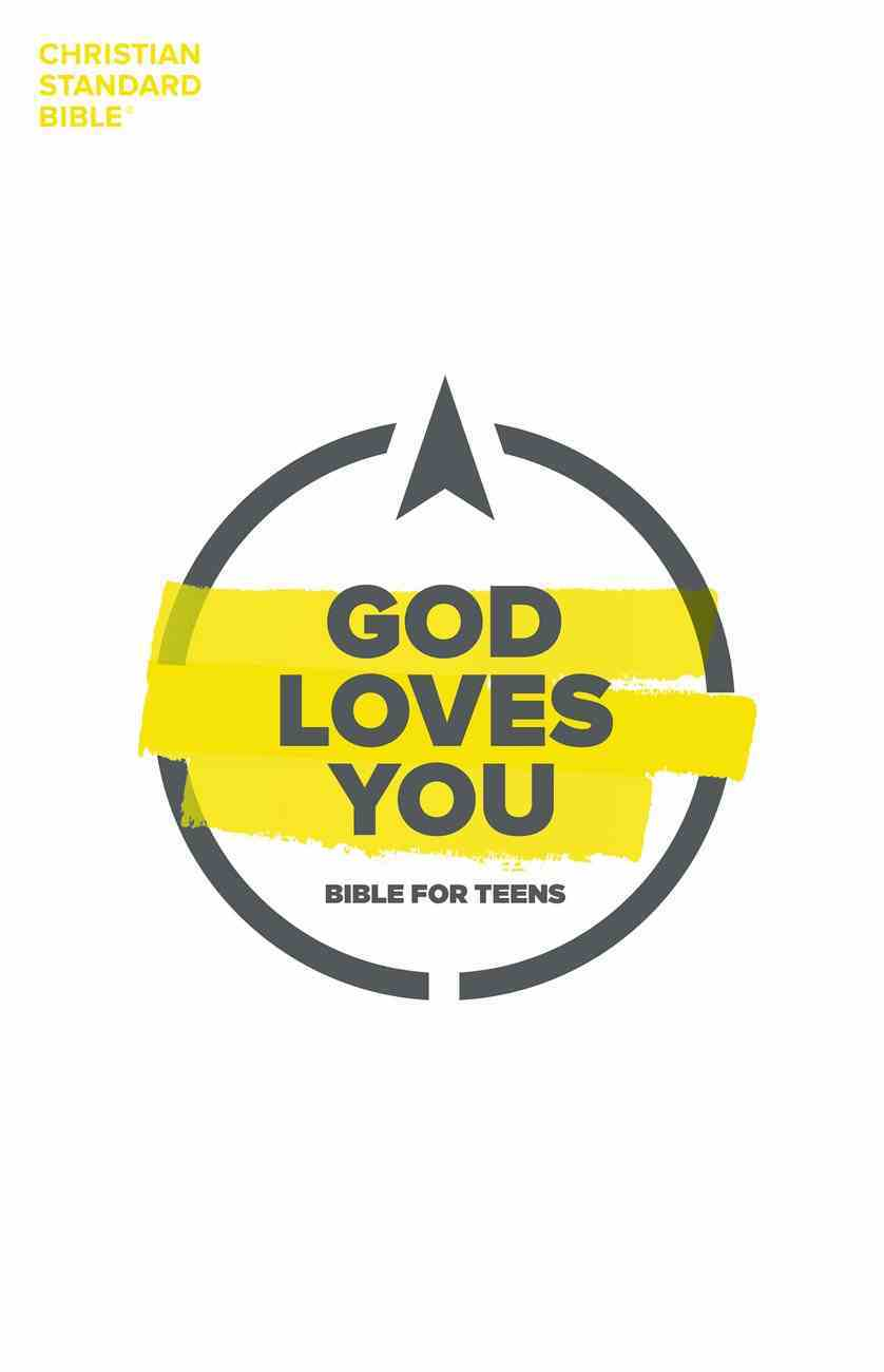 CSB God Loves You Bible For Teens eBook