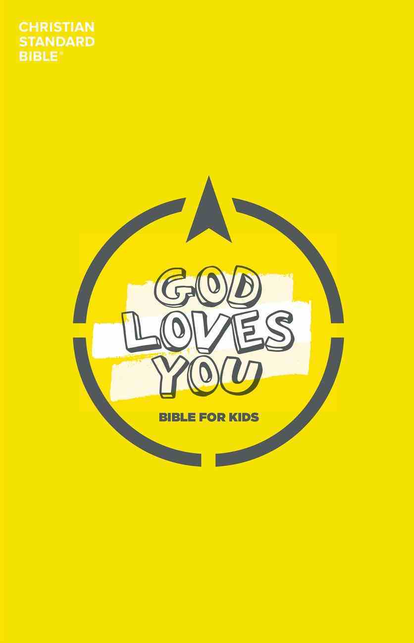 CSB God Loves You Bible For Kids eBook