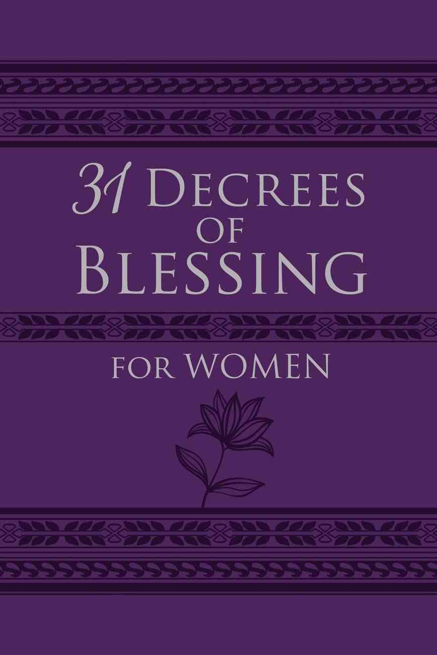 31 Decrees of Blessing For Women eBook