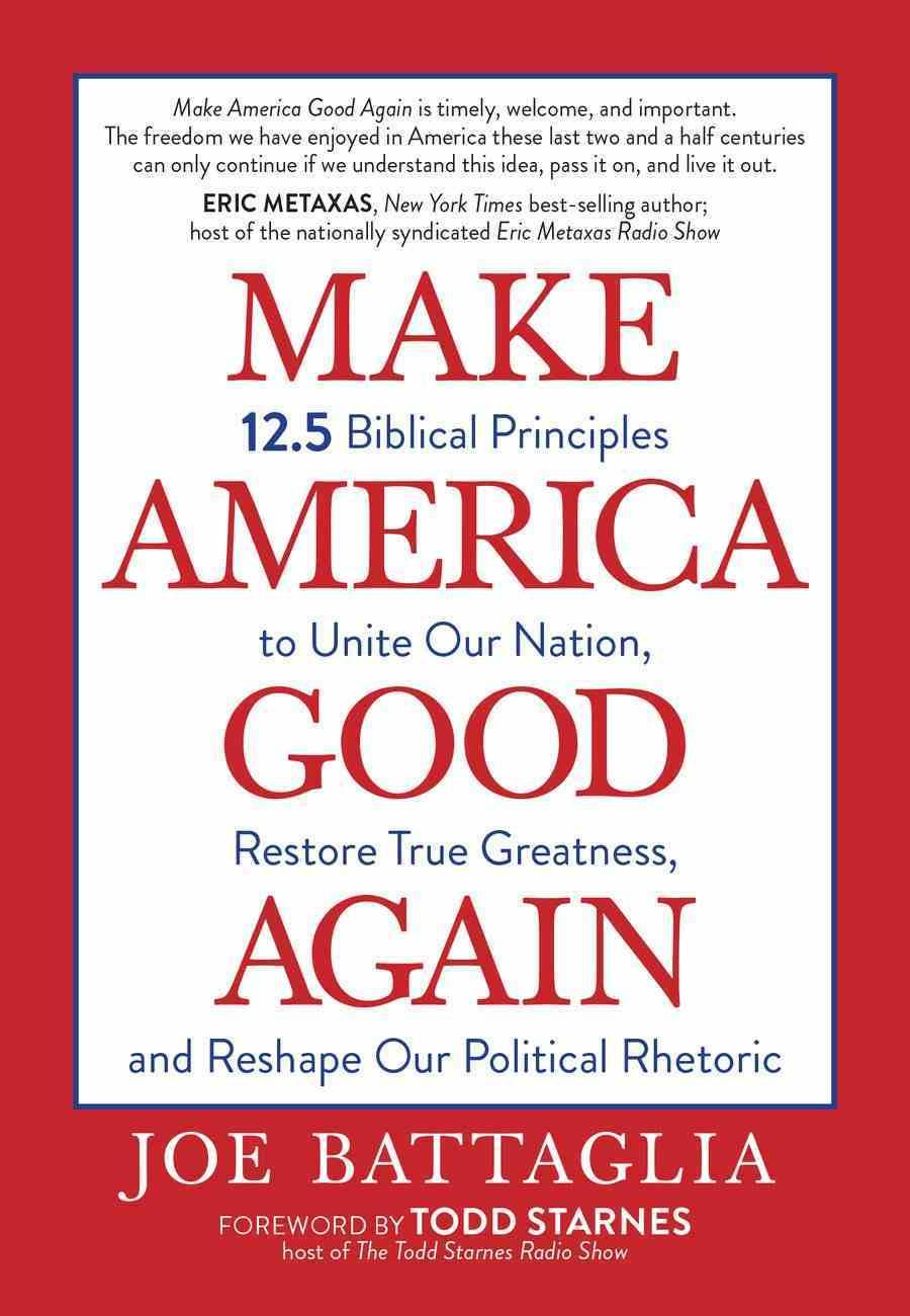 Make America Good Again eBook