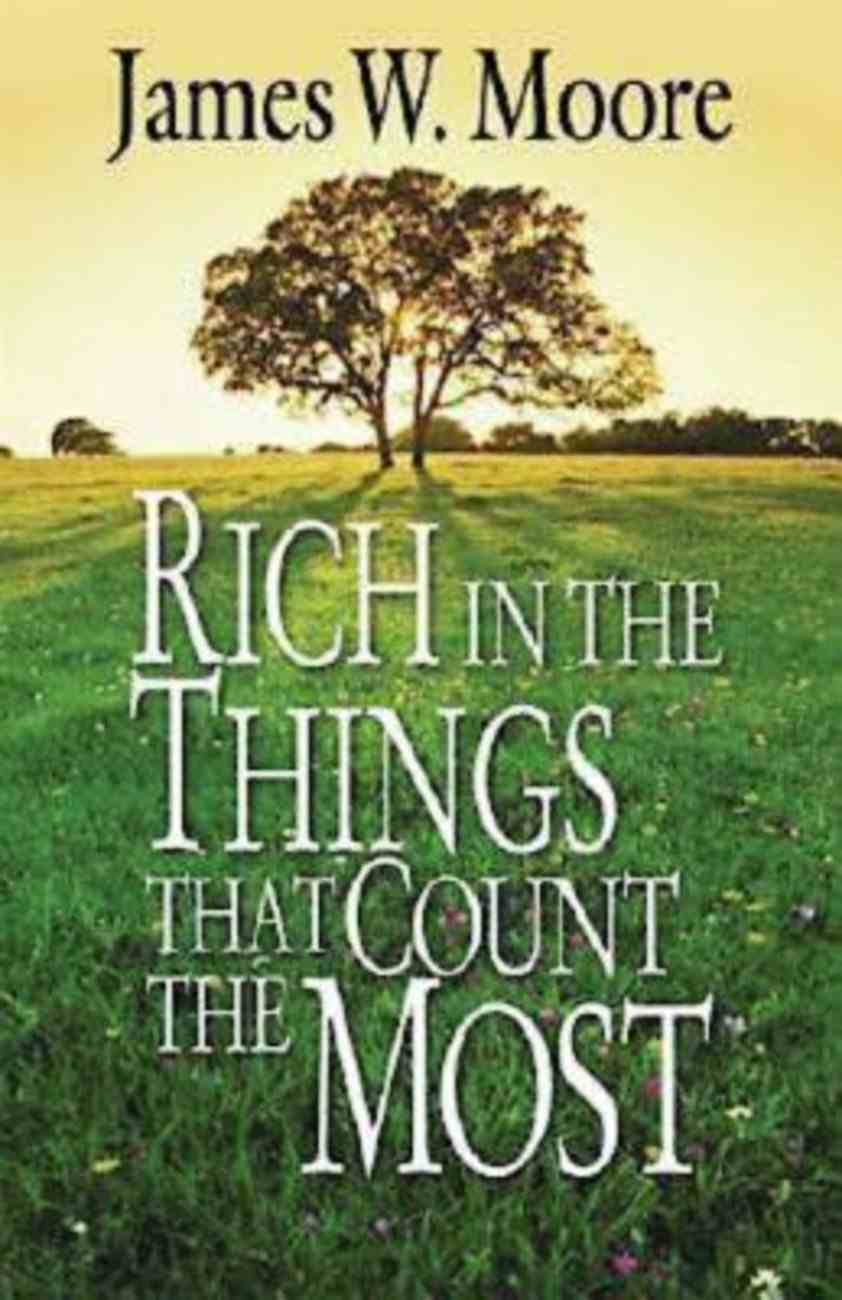 Rich in the Things That Count the Most (101 Questions About The Bible Kingstone Comics Series) eBook