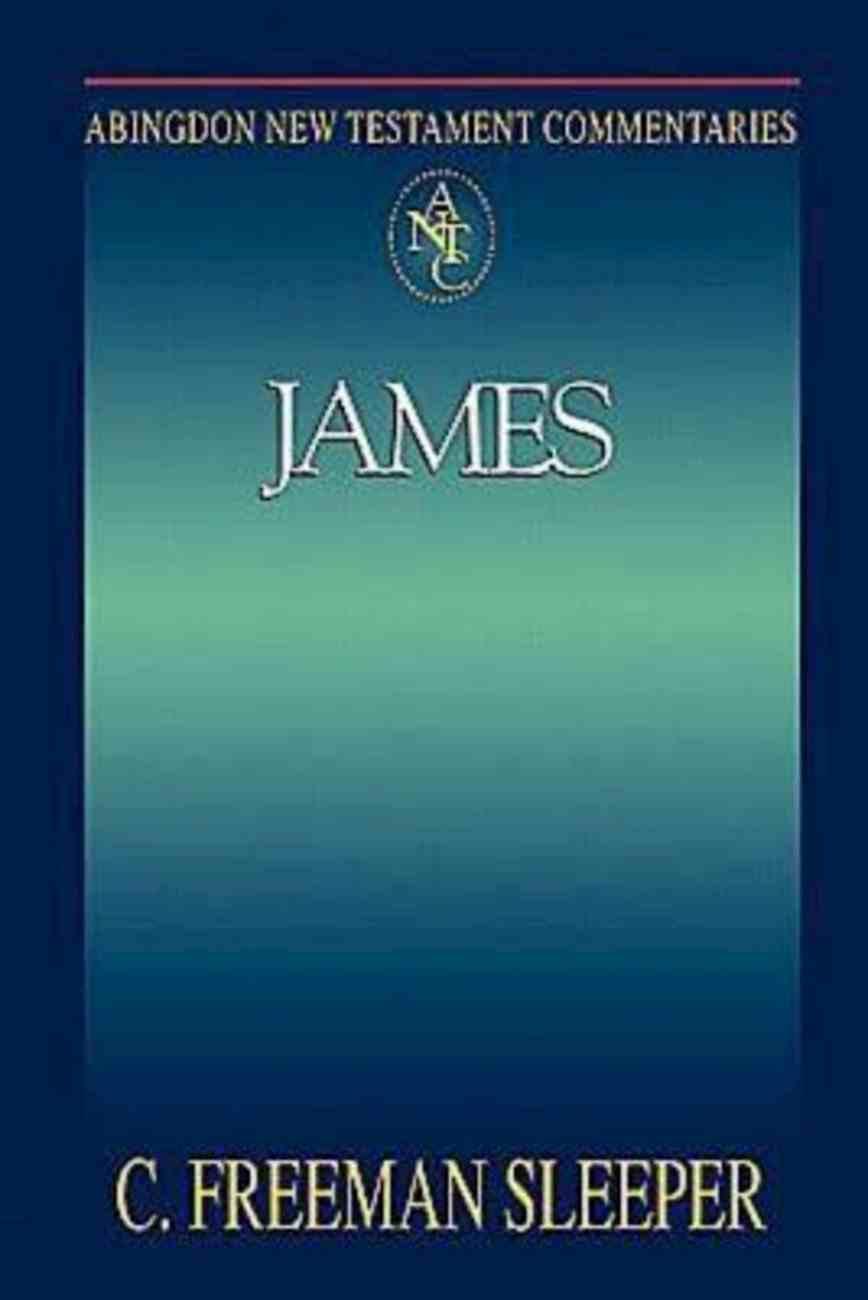 James (Abingdon New Testament Commentaries Series) eBook
