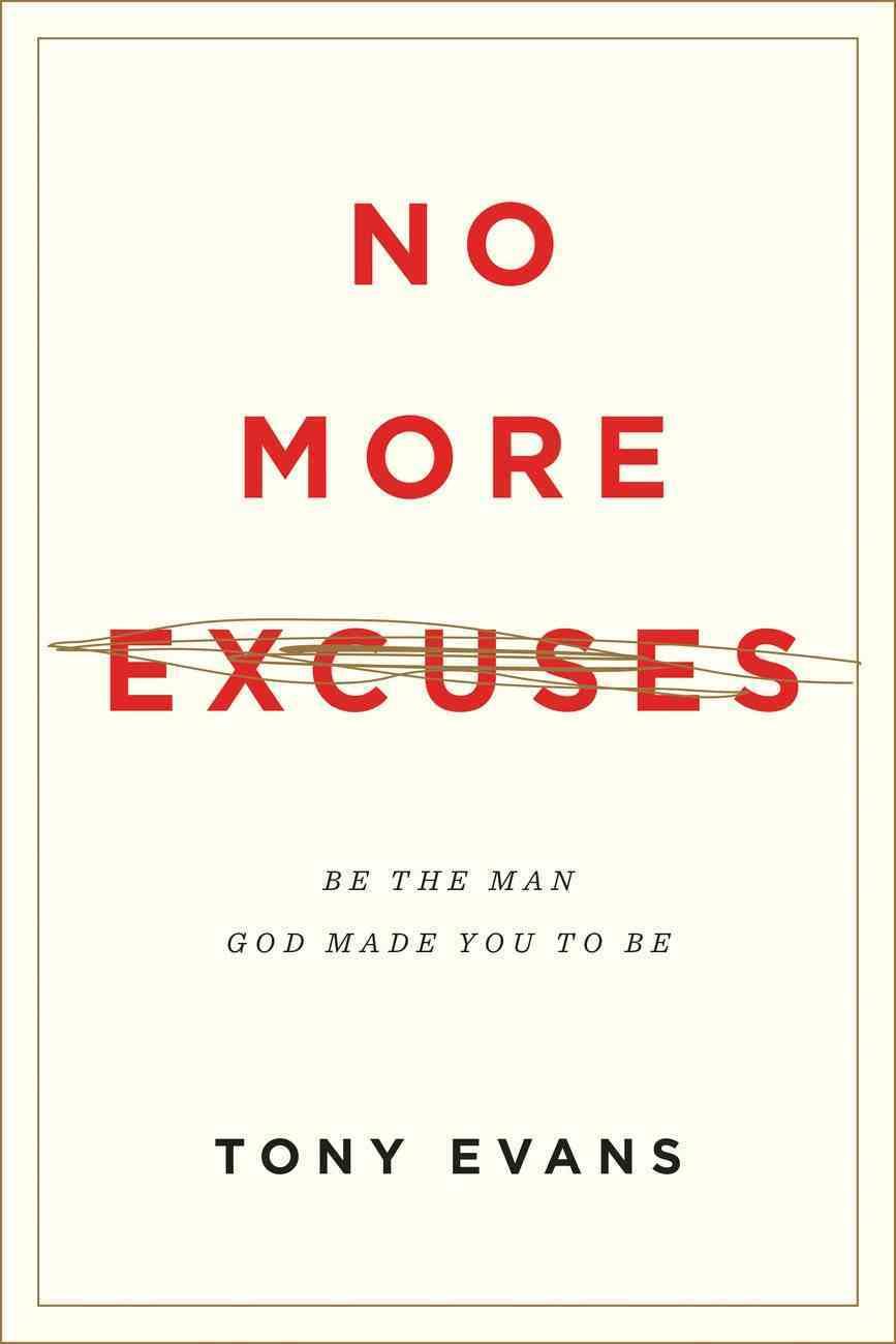 No More Excuses eBook