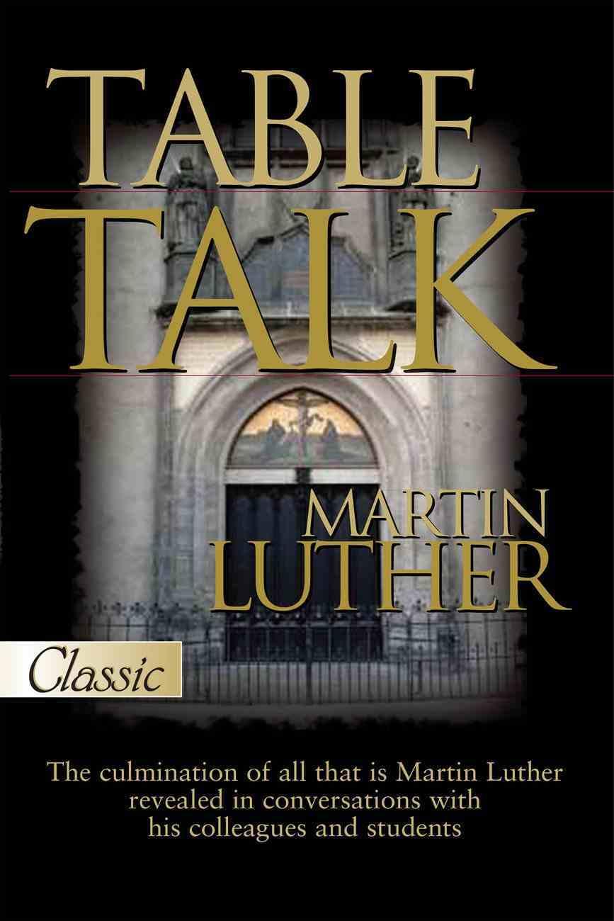 Table Talk eBook