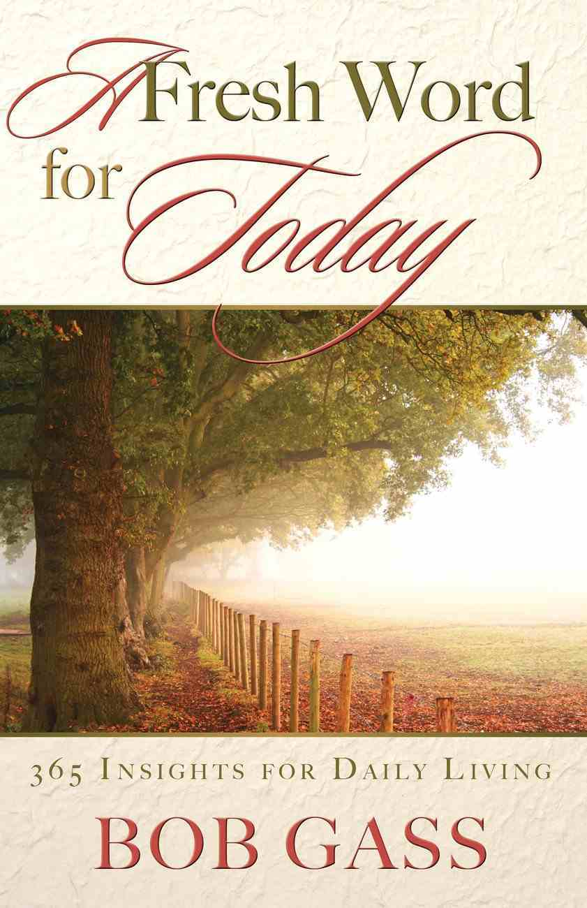 A Fresh Word For Today eBook