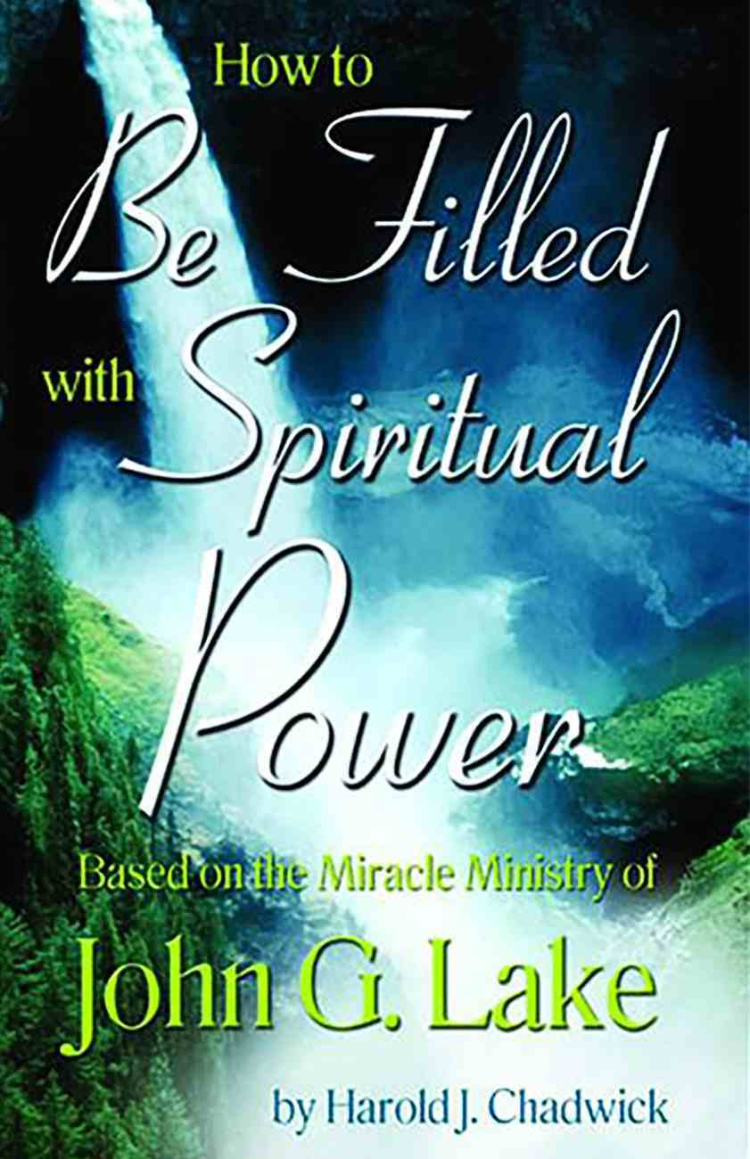 How to Be Filled With Spiritual Power eBook