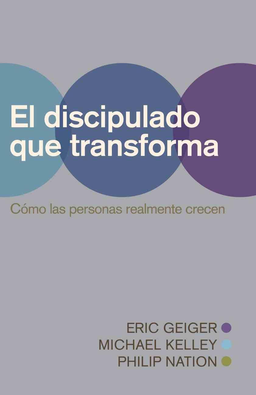 Discipulado Transformador (Transformational Discipleship) eBook
