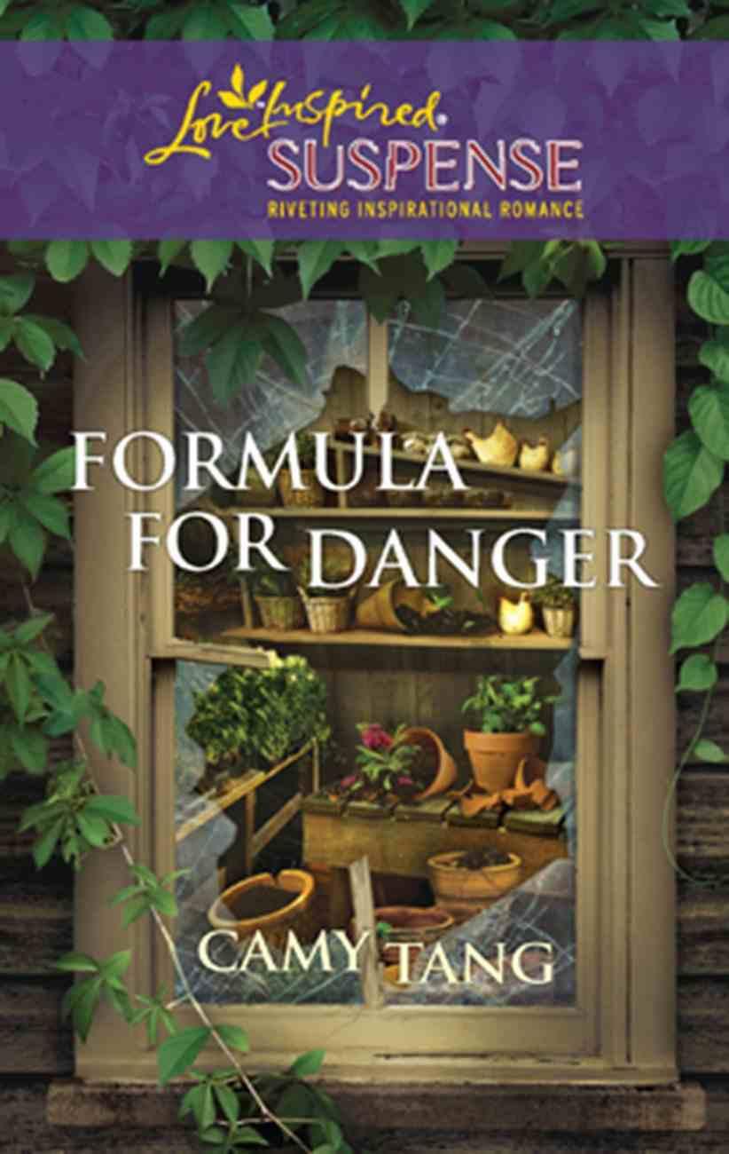 Formula For Danger (Love Inspired Suspense Series) eBook