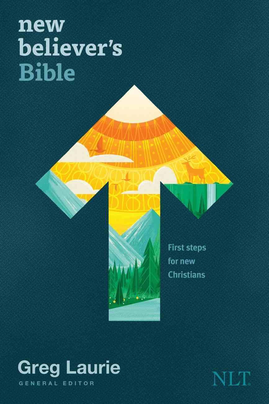 New Believer's Bible NLT, (Black Letter Edition) eBook