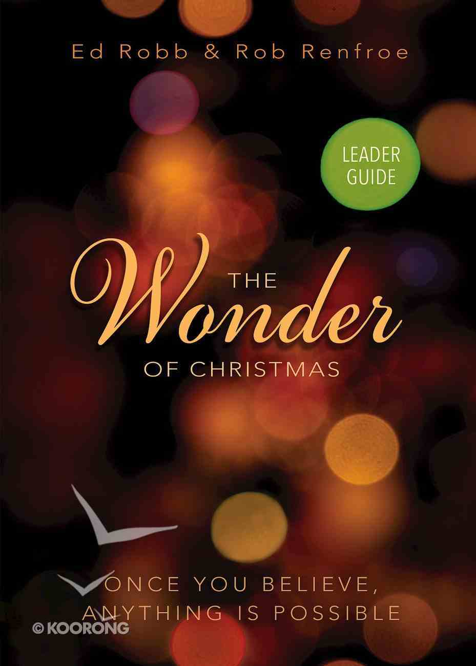 The Wonder of Christmas Leader Guide eBook
