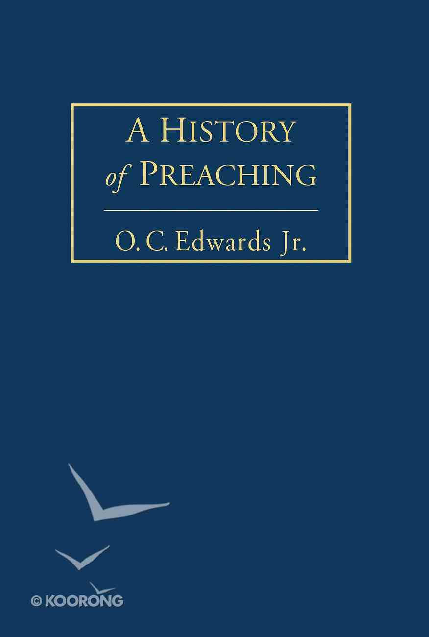 A History of Preaching Volume 2 eBook