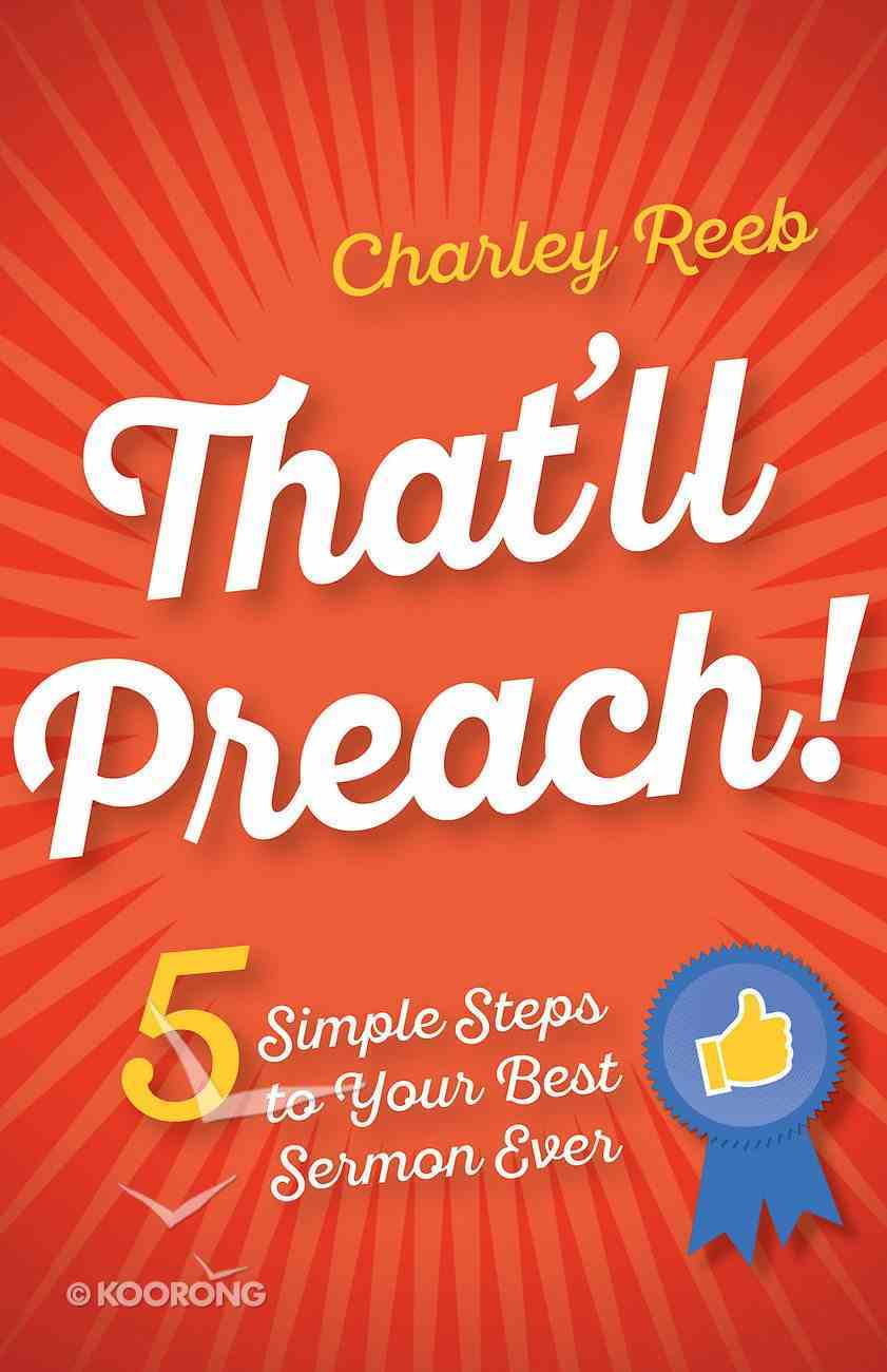 That'll Preach! eBook